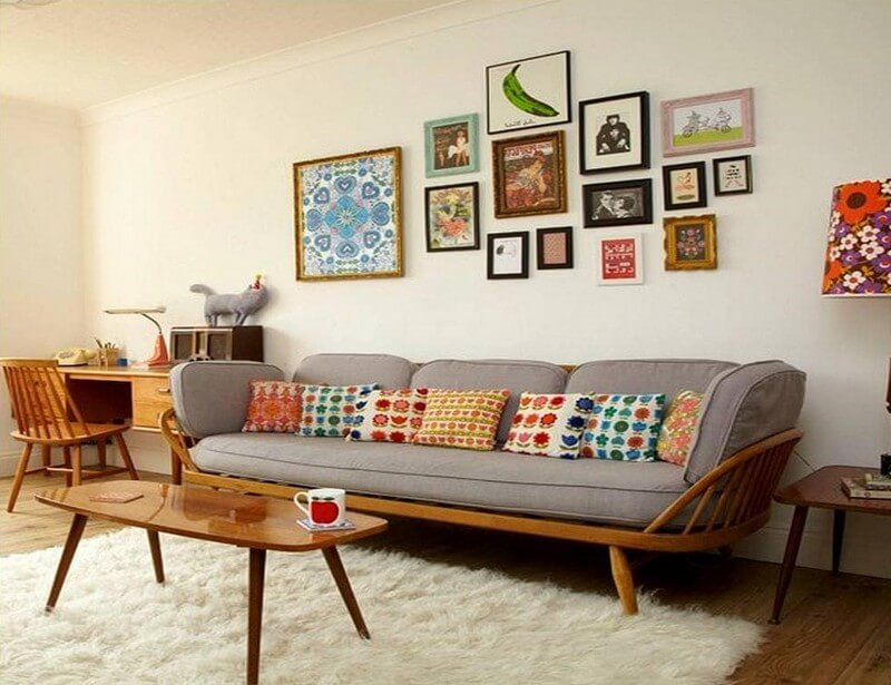 Vintage Living Room Ideas and Decor | Retro Vintage Style ...